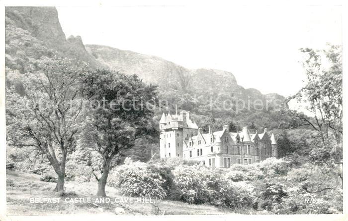 AK / Ansichtskarte Belfast Castle Cave Hill Kat. Belfast
