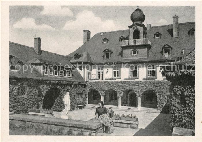 AK / Ansichtskarte Saalfeld Saale Bergfried Sanatorium VEB Maxhuette Kat. Saalfeld