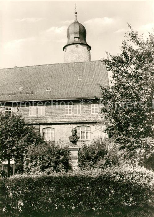 AK / Ansichtskarte Eisfeld Museum Otto Ludwig Kat. Eisfeld