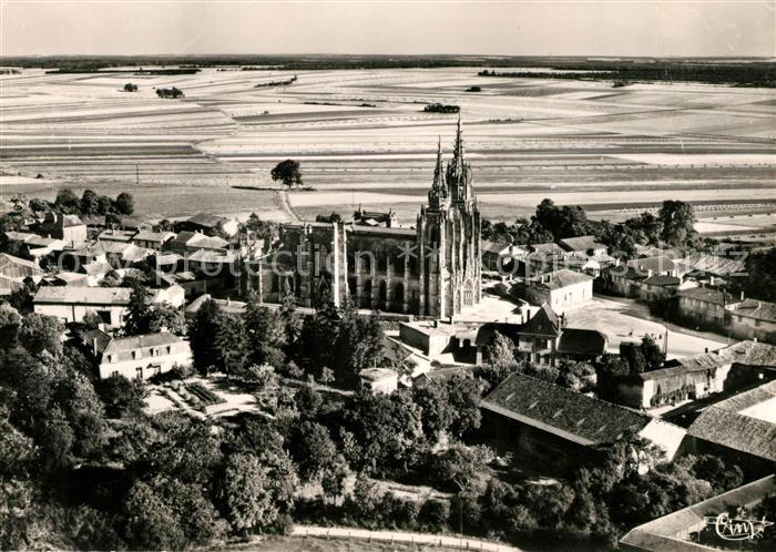 AK / Ansichtskarte Marne La Notre Dames de I Epine Fliegeraufnahme Kat. La Marne