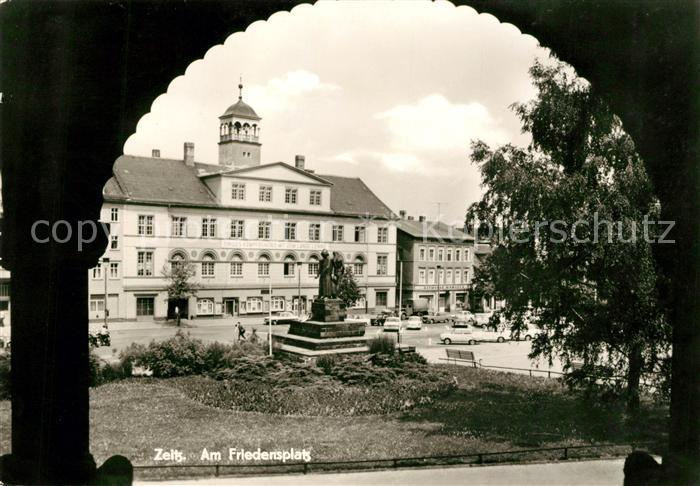 AK / Ansichtskarte Zeitz Friedensplatz Kat. Zeitz