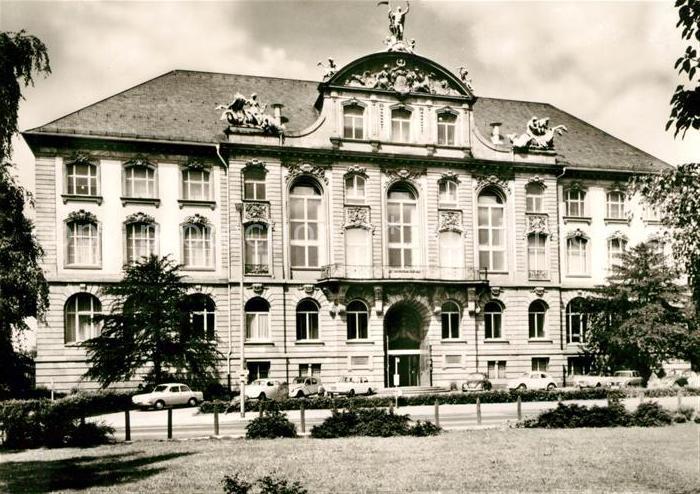 AK / Ansichtskarte Frankfurt Main Senckenberg Museum Kat. Frankfurt am Main