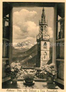 AK / Ansichtskarte Bolzano Dolomiti Torre Parrocchiale Kat. Bolzano