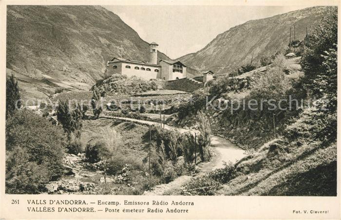 AK / Ansichtskarte Andorra La Vella Emissora Radio  Kat. Andorra La Vella