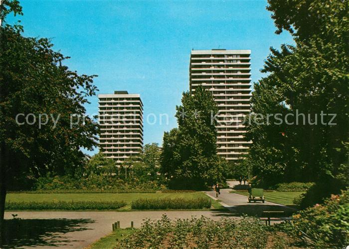 AK / Ansichtskarte Gelsenkirchen Stadtgarten mit Hotel Maritim Kat. Gelsenkirchen