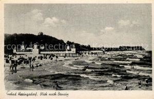 Heringsdorf Ostseebad Usedom Strand Blick nach Bansin Kat. Heringsdorf