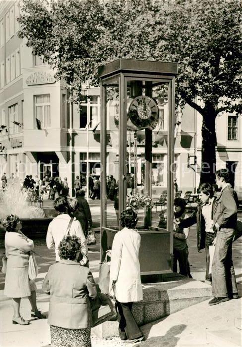 AK / Ansichtskarte Dresden Strasse der Bereiung Neue Standuhr Kat. Dresden Elbe