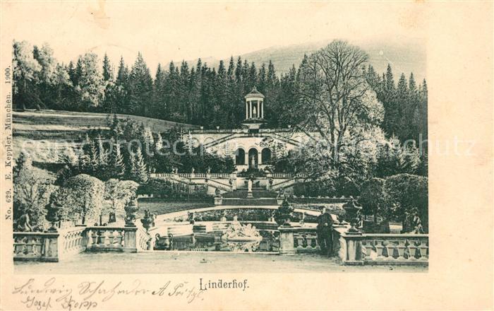 AK / Ansichtskarte Linderhof Ettal Schloss Tempel Kat. Ettal