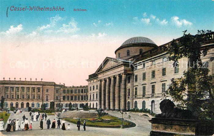 AK / Ansichtskarte Wilhelmshoehe Kassel Schloss Kat. Kassel