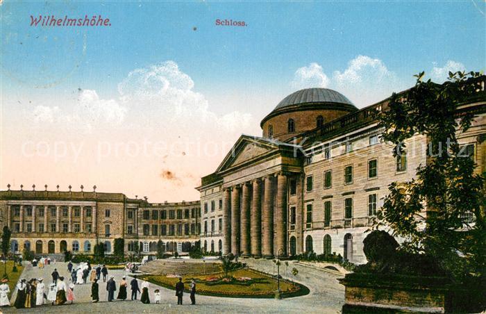 Wilhelmshoehe Kassel Schloss Kat. Kassel