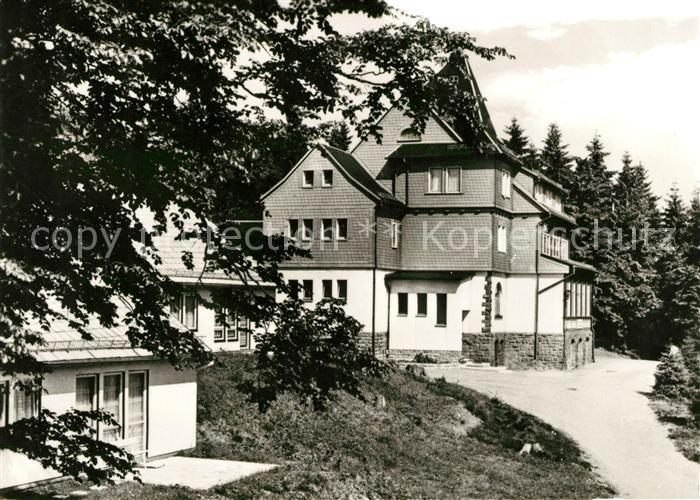 AK / Ansichtskarte Finsterbergen FDGB Erholungsheim Spiessberghaus Kat. Finsterbergen Thueringer Wald