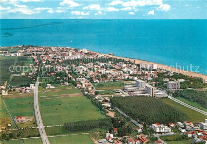 Ak Ansichtskarte Lignano Fliegeraufnahme Strand Kat Lignano Nr