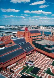 AK / Ansichtskarte London Aerial view of the British Library Kat. City of London