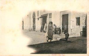 AK / Ansichtskarte Tunis Une Rue Kat. Tunis