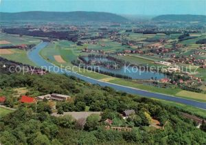 Vlotho Amtshausberg Burg Jugendhof Weser Uffeln Westf Pforte Kat. Vlotho