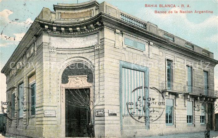 Bahia Blanca Banco de la Nacion Argentina Kat. Bahia Blanca