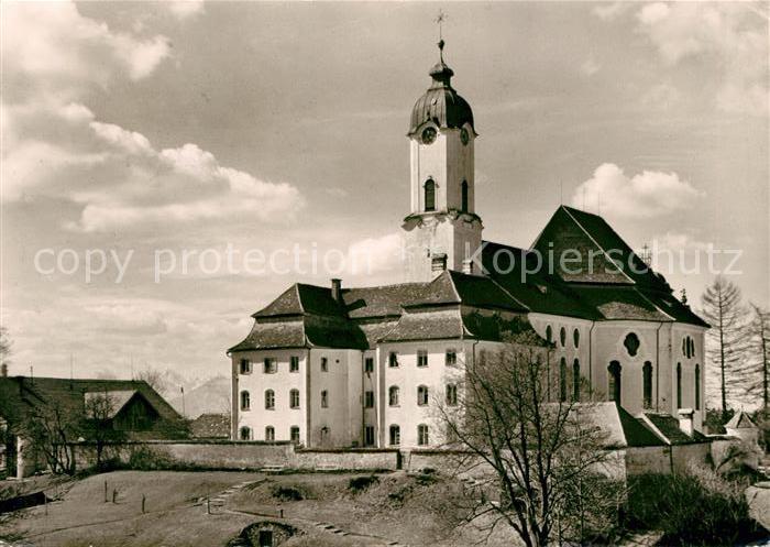 Steingaden Oberbayern Die Wies Wallfahrtskirche Kat. Steingaden