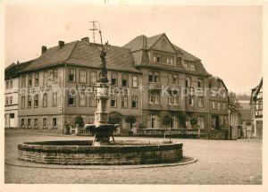 Vacha Bunte Stadt an der Rhoen Hotel Adler Vitusbrunnen Kat. Vacha