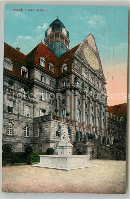Kassel Neues Rathaus Denkmal Kat Kassel Nr Sa53508 Oldthing