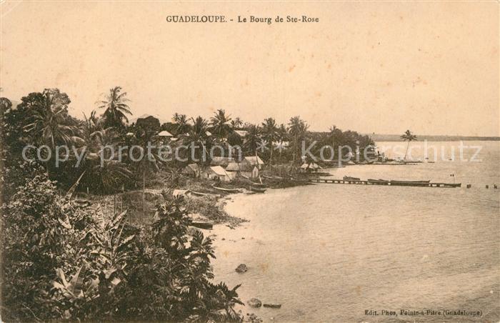 Guadeloupe Le Bourg de Sainte Rose Kat. Guadeloupe