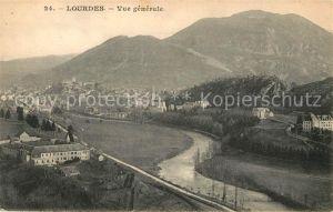 Lourdes Hautes Pyrenees Vue generale Montagnes Kat. Lourdes