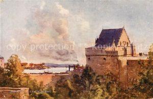 AK / Ansichtskarte Nantes Loire Atlantique Chateau Peinture Collection Les Sites de France Bords de la Loire Kat. Nantes