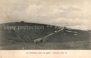 AK / Ansichtskarte Hohneck avec la gare Kat. Gerardmer