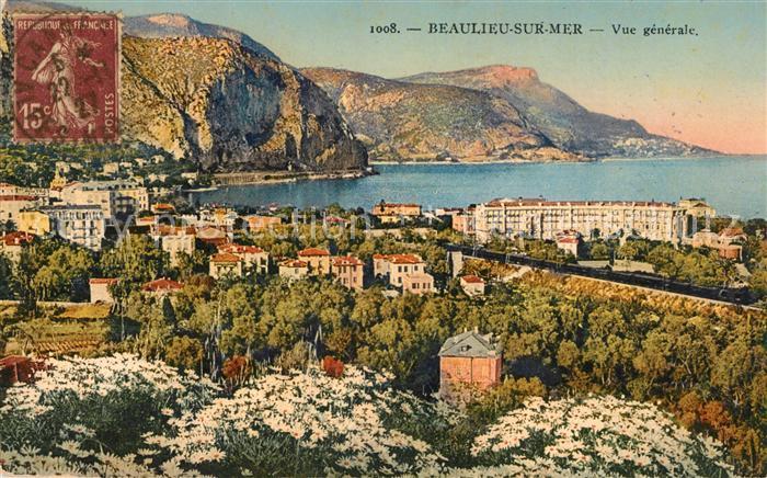 AK / Ansichtskarte Beaulieu sur Mer Vue generale Kat. Beaulieu sur Mer
