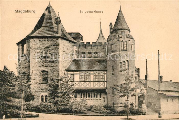 AK / Ansichtskarte Magdeburg St Lucasklause Kat. Magdeburg
