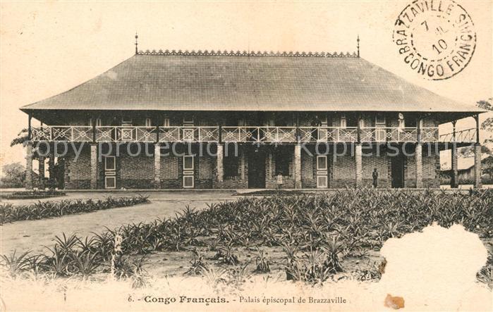 AK / Ansichtskarte Brazzaville Palais episcopal Kat. Brazzaville