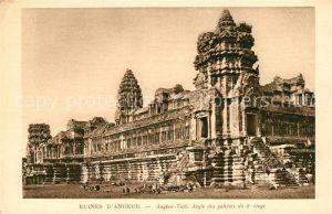 AK / Ansichtskarte Angkor Wat Ruines Temple