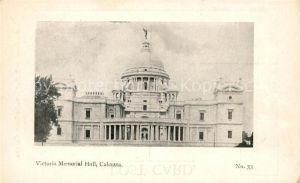 AK / Ansichtskarte Calcutta Victoria Memorial Hall Kat. Calcutta