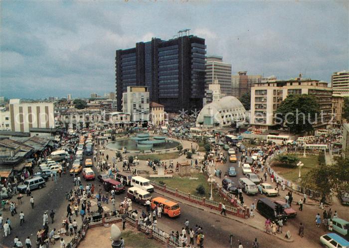 AK / Ansichtskarte Lagos Nigeria Tinubu Square