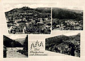 AK / Ansichtskarte Bad Blankenburg Schwarzatal Panorama Kat. Bad Blankenburg