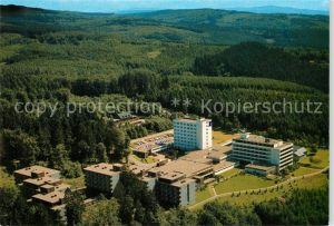 AK / Ansichtskarte Weiskirchen Schwarzwald Hochwald Sanatorium Baerenfels Sanatorium Fliegeraufnahme