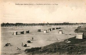 AK / Ansichtskarte Sully sur Loire Les bords de la Loire Plage Kat. Sully sur Loire