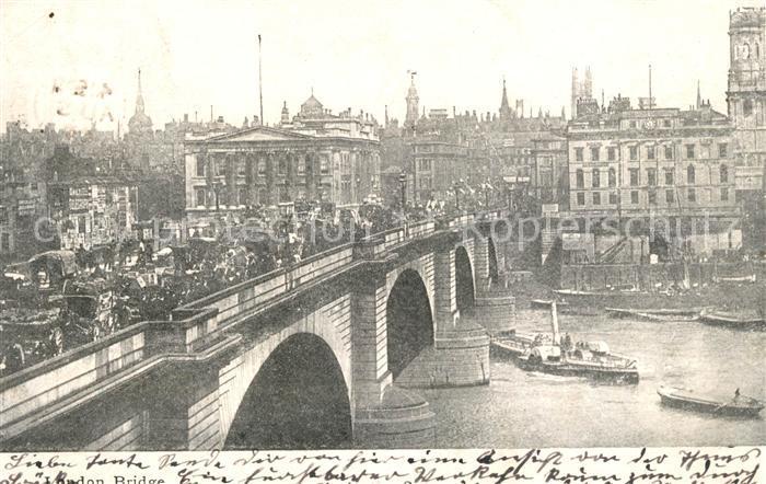 AK / Ansichtskarte London London Bridge Kat. City of London