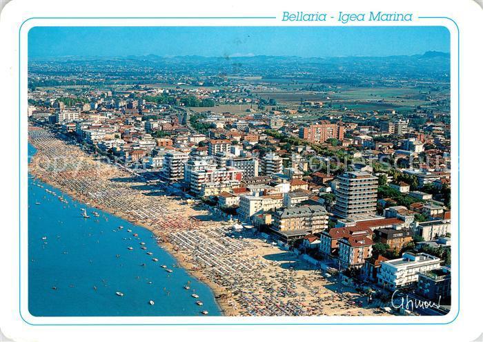 AK / Ansichtskarte Bellaria Igea Marina Veduta Aerea Fliegeraufnahme ...