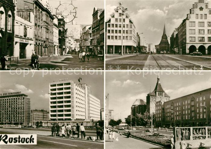 Rostock Mecklenburg Vorpommern Haus der Schiffahrt
