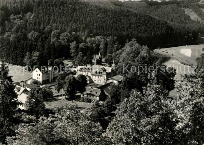 AK / Ansichtskarte Walsburg Fliegeraufnahme FDGB Ferienheim Marx Engels Kat. Ziegenrueck Thueringen