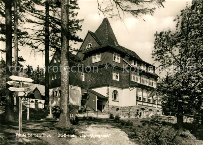 AK / Ansichtskarte Finsterbergen FDGB Heim Spiessberghaus Kat. Finsterbergen Thueringer Wald