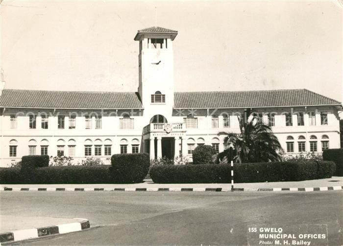 AK / Ansichtskarte Gweru Municipal offices Kat. Gweru