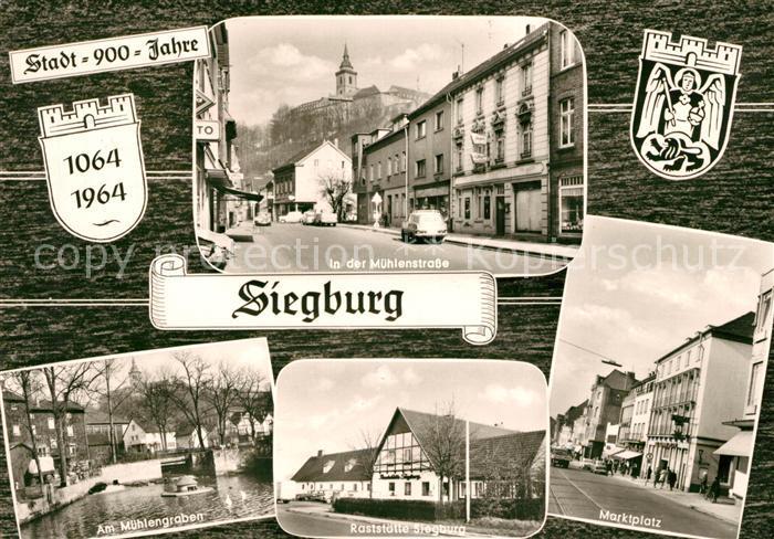 AK / Ansichtskarte Siegburg Muehlenstrasse Marktplatz Raststaette Siegburg Kat. Siegburg