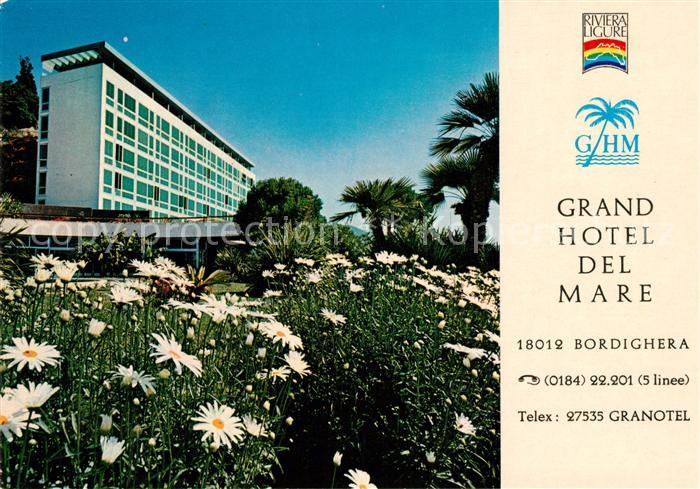 AK / Ansichtskarte Bordighera Grand Hotel del Mare Kat. Bordighera