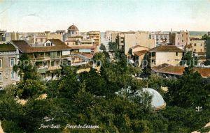 AK / Ansichtskarte Port Said Place de Lesseps Kat. Port Said