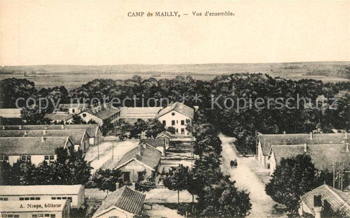 AK / Ansichtskarte Camp de Mailly Vue d ensemble Kat. Mailly le Camp