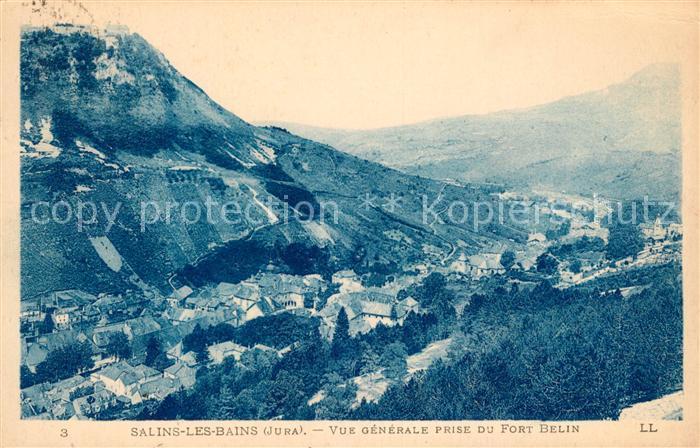 AK / Ansichtskarte Salins les Bains Vue generale prise du Fort Belin Kat. Salins les Bains