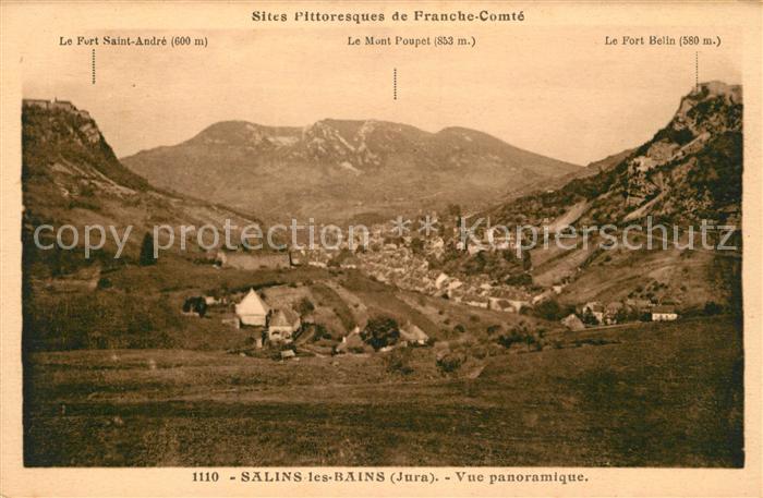 AK / Ansichtskarte Salins les Bains Vue panoramique Kat. Salins les Bains