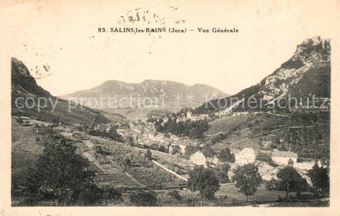 AK / Ansichtskarte Salins les Bains Vue generale Kat. Salins les Bains