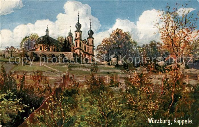 AK / Ansichtskarte Verlag Wiedemann WIRO Nr. 1711 C Wuerzburg Kaeppele Kat. Verlage